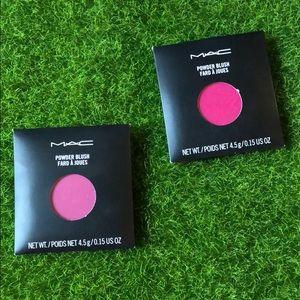 BNIB Mac Cosmetics Power Blush - Rhubarb & Azalea